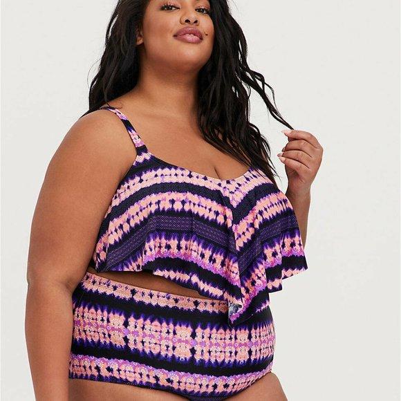 NWT Plus Sized Bikini Size 2X